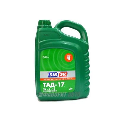 Трансмиссионное масло PILOTS ТАД-17 (ТМ 5-18), 3л, минеральное