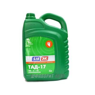 Трансмиссионное масло PILOTS ТАД-17 (ТМ 5-18), 5л, минеральное