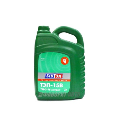 Трансмиссионное масло PILOTS ТЭП-15В, 3л, минеральное