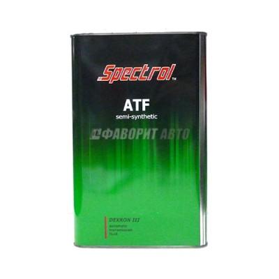 Трансмиссионное масло СПЕКТРОЛ ATF Dexron III, 4л, полусинтетическое
