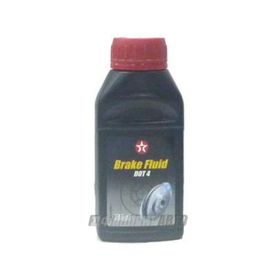 Тормозная жидкость TEXACO BRAKE FLUID DOT 4, 250мл, синтетическая
