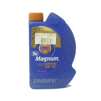 Моторное масло ТНК Magnum Ultratec 5W-50, 1л, синтетическое