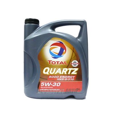 Моторное масло TOTAL Quartz 9000 Energy HKS 5W-30, 5л, синтетическое