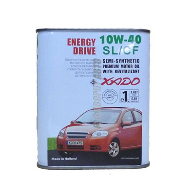 Моторное масло XADO Atomic Oil 10W-40, 1л, полусинтетическое