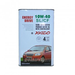 XADO Atomic Oil 10W-40 SL/CF 4л