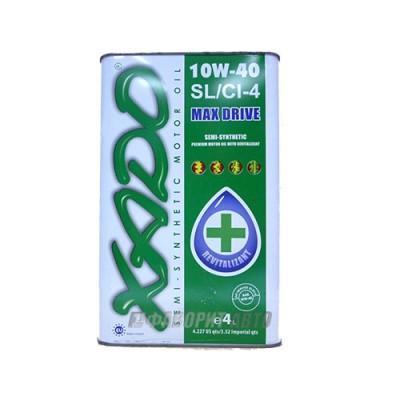 Моторное масло XADO Atomic Oil 10W-40, 4л, минеральное