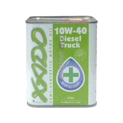 Моторное масло XADO Atomic Oil 10W-40 Diesel Truck, 1л, полусинтетическое