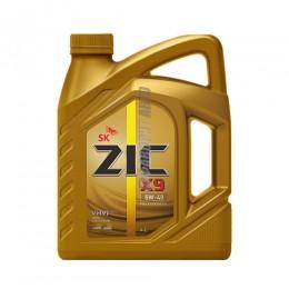 ZIC X9 5W40 SN (синт) 4л.  162613/162902