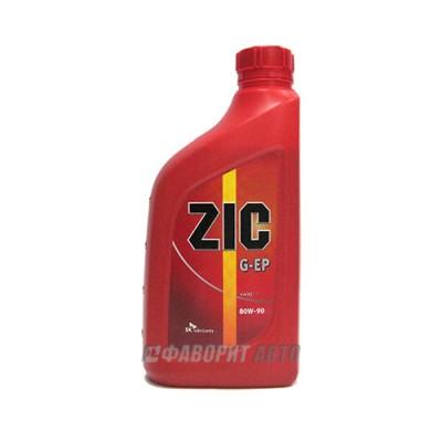 Трансмиссионное масло ZIC 80W-90 EP, 1л, синтетическое