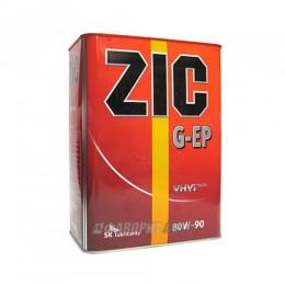 ZIC 80W90  EP (GL-4) син 4л (старое ZIC 80W90 G-EP (GL-4) п/с )
