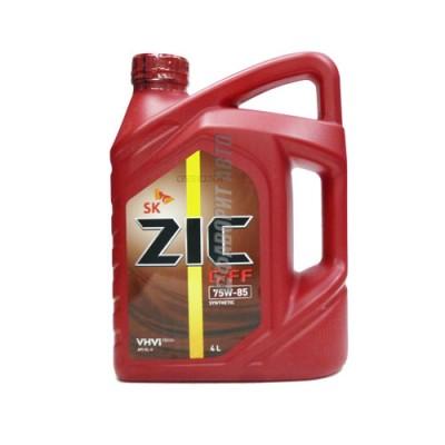 Трансмиссионное масло ZIC 75W85 G-FF, 4л, синтетическое