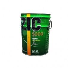 ZIC X5000  5W30 Diesel CI-4 п/с 20л.