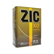ZIC 0W40 TOP SM/CF,  ACEA  A3/B4 синт 4л