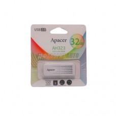 Флеш Apacer USB 32GB AH323 White 3202 @