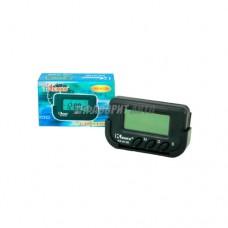Часы а/м Kenko-613D c будильником 2611