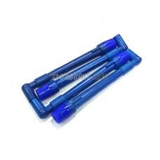 Наконечник свечной 405,406,409 дв. (синий) силикон (к-т 4 шт) (Авто-Альянс)