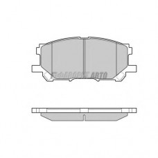 Колодки тормозные HI-Q SP1456 пер.