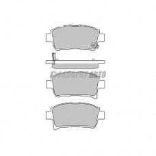 Колодки тормозные HI-Q SP1232 пер. #