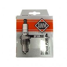 Свечи заж  ТС  AWM QF3SR-11 AWM (медь) ВАЗ-10,11,12, Шеви, Киа