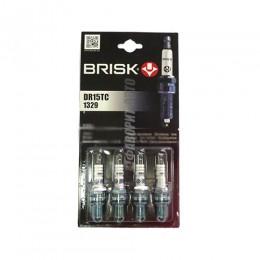 Свечи BRISK EXTRA DR15TC  (Чехия) к-т 4шт.