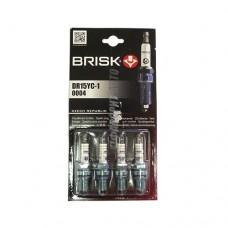 Свечи BRISK SUPER DR15YC-1  (Чехия) к-т 4шт.