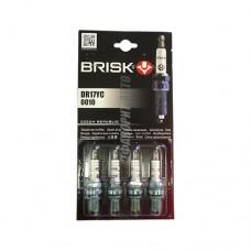 Свечи BRISK SUPER DR17YC (Чехия) к-т 4шт.