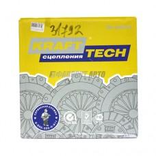 Комплект сцепления ВАЗ-2110-12 (Kraft Tech)