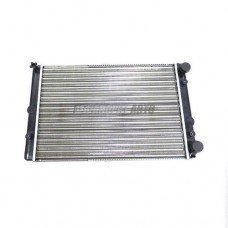 Радиатор охл. ВАЗ-2108-09 алюм. 2-ряд. (LUZAR)  #